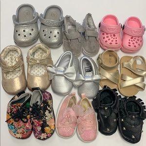 Baby girl shoe bundle